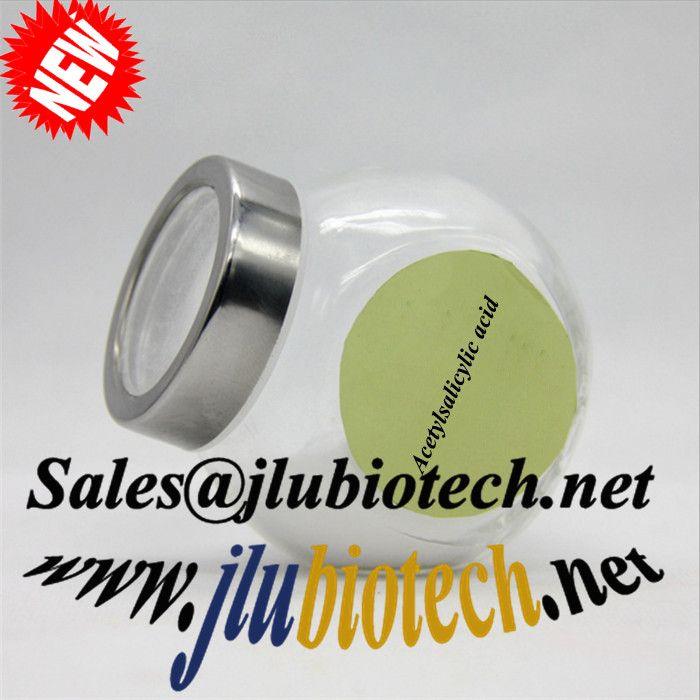 Pharmaceutical Raw Materials Aspirin Acetylsalicylic Acid sales@jlubiotech.net
