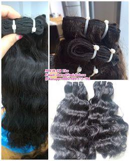 Mic Hair Thu: WAVY WEFT HAIR+ 100% human hair, 1…