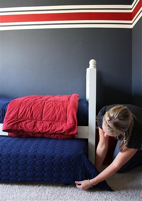 bedskirt for trundle bed 1