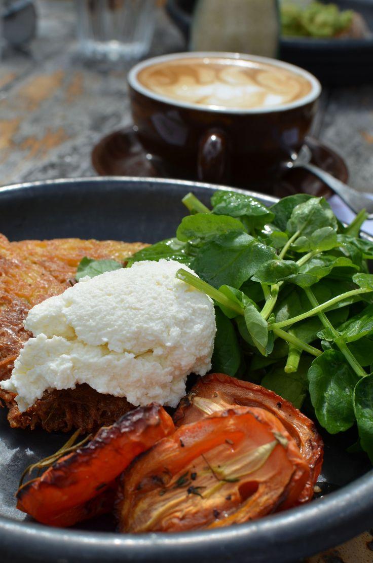 Potato Rosti found at Perth City Farm Cafe