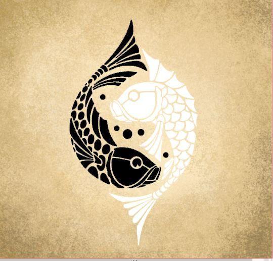 The 25 best koy fish tattoo ideas on pinterest japanese for Yin yang fish