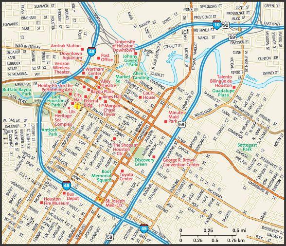 Downtown Okc Tunnel Map – Jerusalem House on