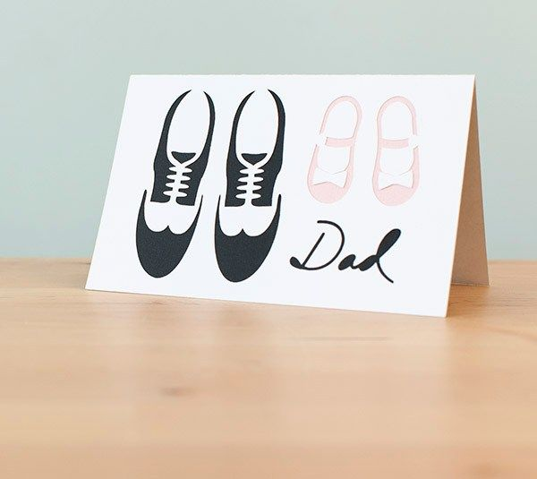 Daddy Daughter Fathers Day Card
