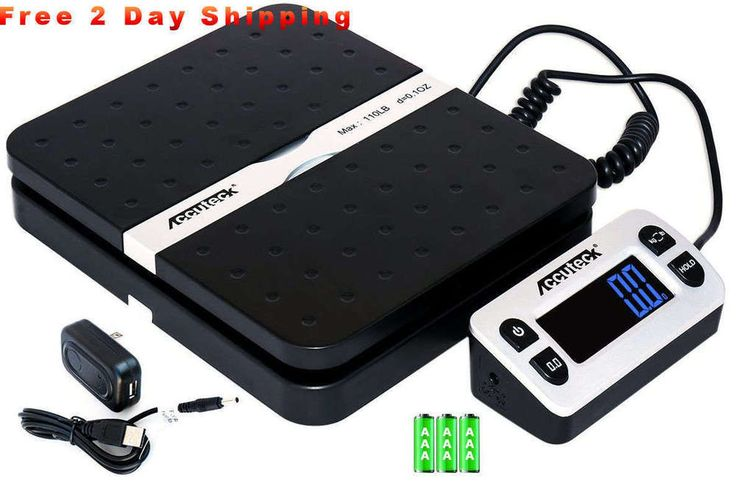 110lbs Digital Shipping Postal Scale Weigh Ship for UPS USPS FedEx Ebay Package #AccuteckShipPro