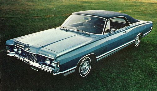 1968 Mercury 2-Door Hardtop, My Dad had this car!