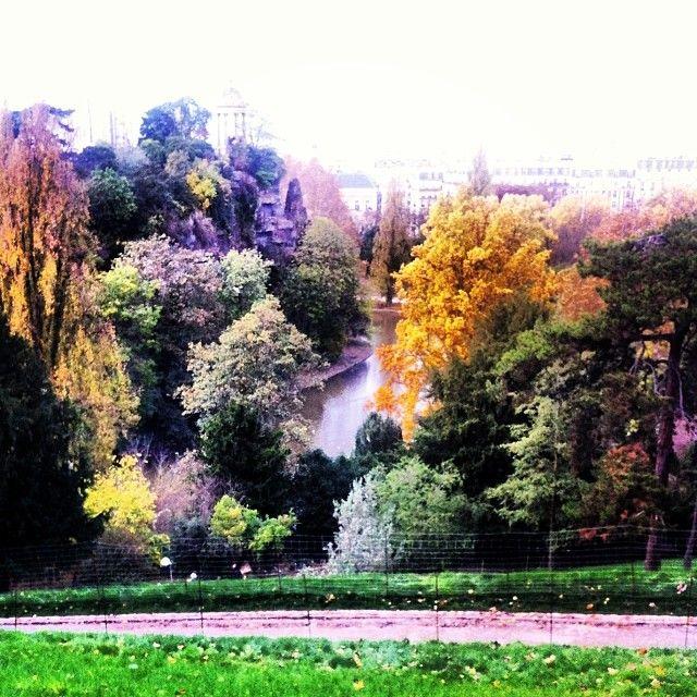 #photo Automne aux Buttes Chaumont #Paris19 #PEAV