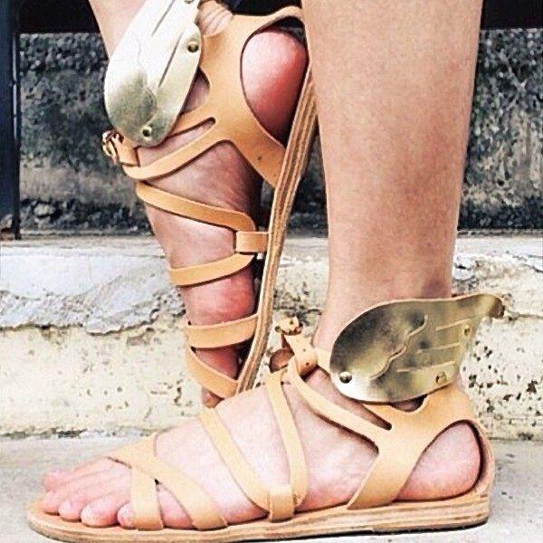 Ancient greek sandals  #ancientgreeksandals #dolcitrame #summer