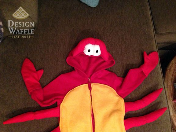 The Little Mermaid – Sebastian Costume | Design Waffle