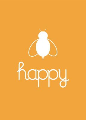 Bee Happy, love this!! FREE download