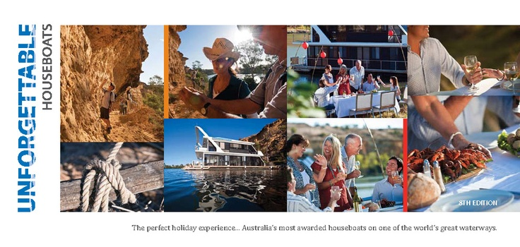 Unforgettable Houseboats   Luxury houseboat hire. Murray River - Mannum