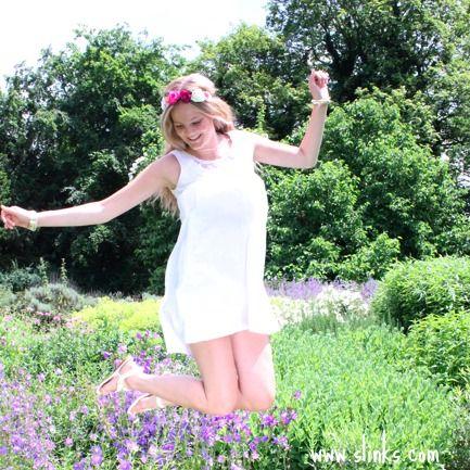 #jumping in #slinks #loving #summer