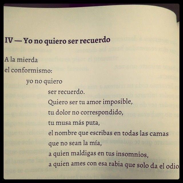 Elvira Sastre / yo no quiero ser un recuerdo