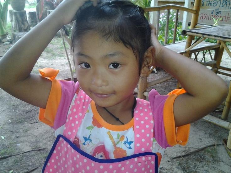my little girlfriend in Kao Lak