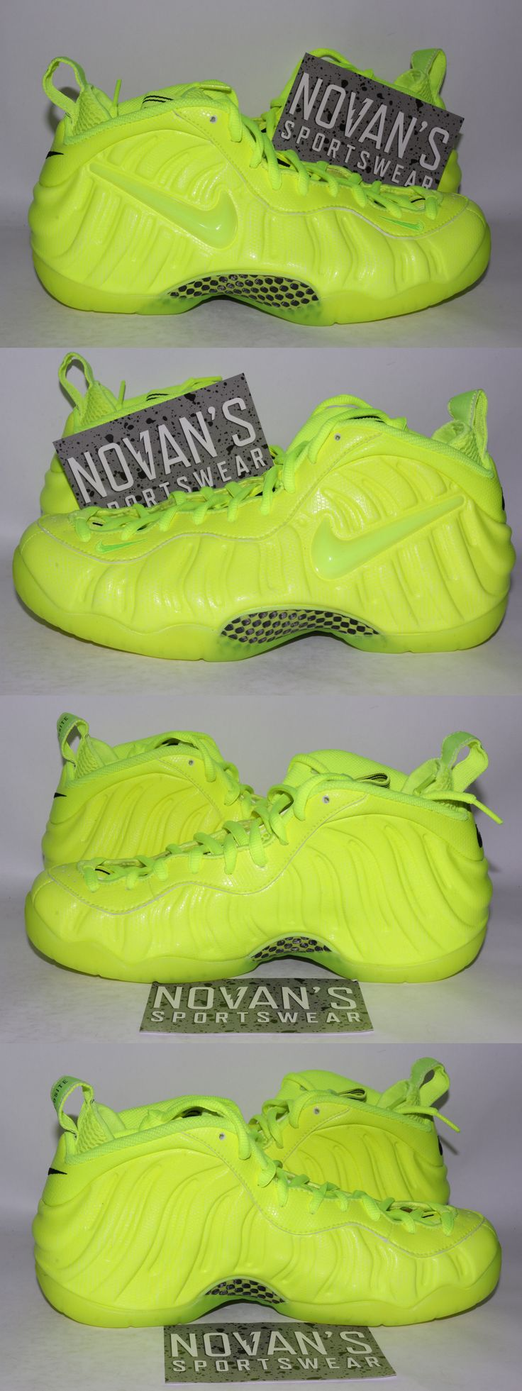 Basketball: Nike Foamposite Pro Volt Black 624041-700 Galaxy Red Blue Mirror As Tan Qs -> BUY IT NOW ONLY: $239.99 on eBay!