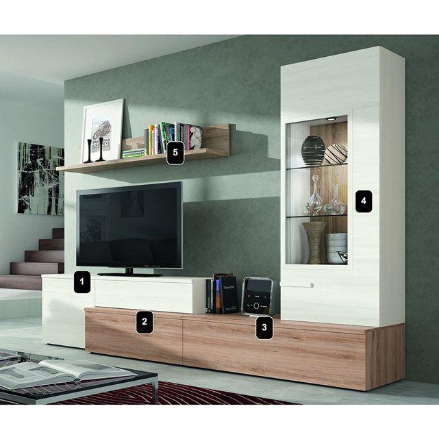 17 meilleures id es propos de meuble tv led sur - Meuble tv grand ecran ...