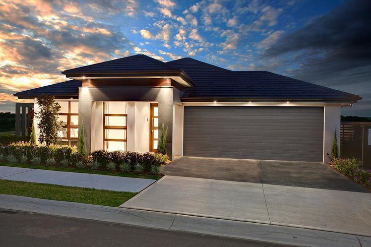 The beautiful Garden Retreat by McDonald Jones Homes. #McDonaldJones #architecture #design #home #inspiration #facade