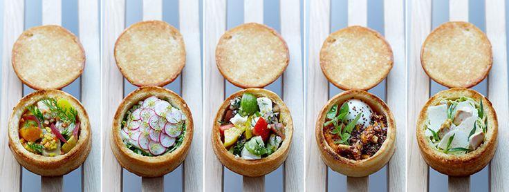 Les Bols de Jean, le restaurant du chef Jean Imbert où tous les plats se dégustent dans un bol… de pain !