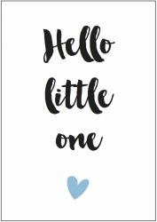 Kaart boy | Hello little one