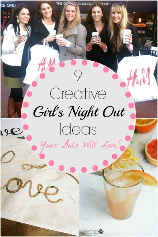9 Creative Girls Night Out Ideas Your Gals Will Love! | eBay