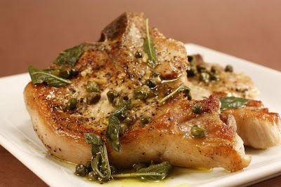 Chef Cucina di Chuck: italiana in padella Braciole di maiale Chef Chuck