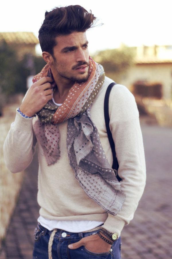 foulard tendance mode homme