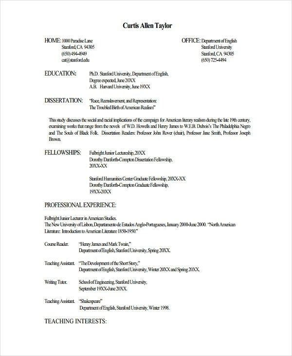 Fresher Lecturer Resume Templates 7 Free Word Pdf Format Teacher Resume Template Job Resume Template Downloadable Resume Template