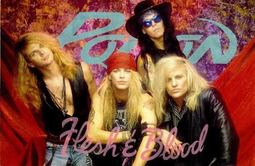 Ahh, sweet memories of 7th grade pool parties and swooning over Brett Michaels. LOL what WAS I thinking? But every rose still does have its thorn...