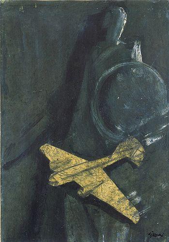 Aeroplano  Mario Sironi, 1930