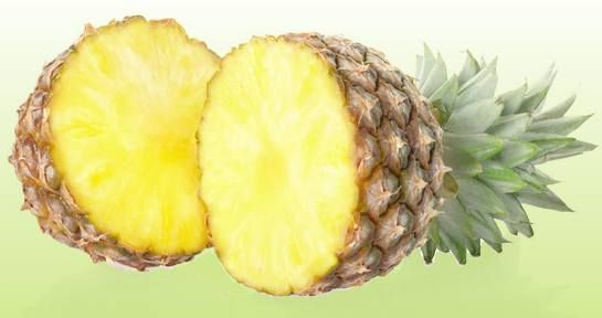 Pineapples are good for ...