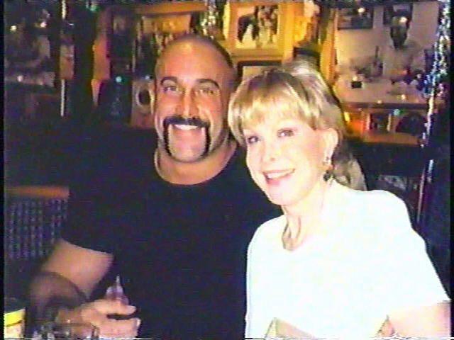 Barbara Eden and her son, Matthew Ansara.