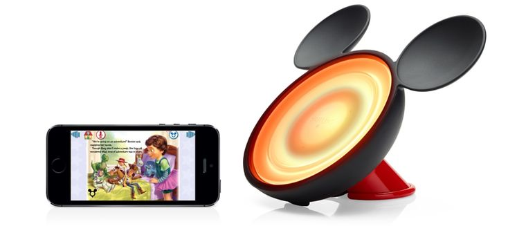 The Disney Friends of Hue Storylight is outrageous--a nightlight that syncs with their storytime apps.