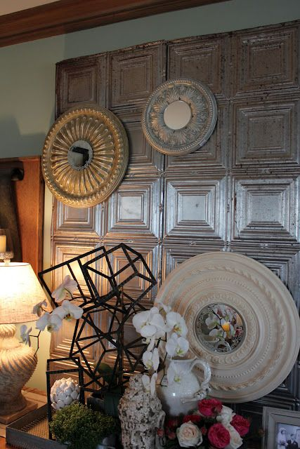 35 Best Tin Ceiling Tiles Images On Pinterest Tin