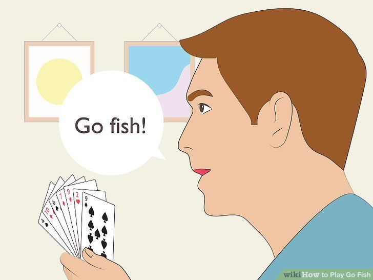 How To Play Go Fish Play N Go Going Fishing Playing Card Deck