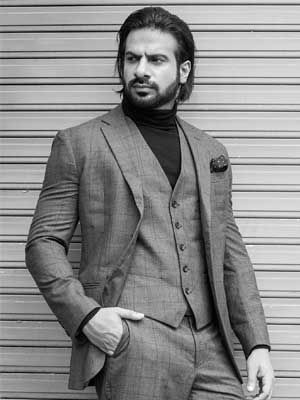 Karan veer mehra is one of the fresh faces from our #malemodels portal. Check out his dazzling look and his #portfolio here. #Models #Modeling #Actor #Style #FashionModel