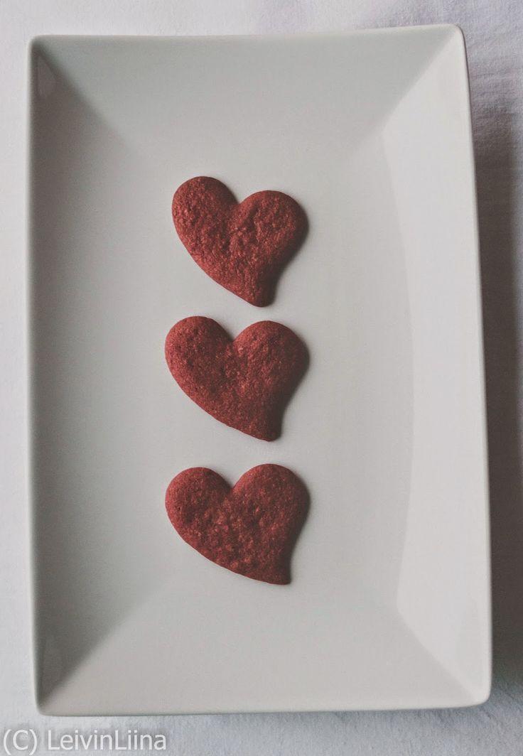 LeivinLiina: Red Velvet -piparit/cookies