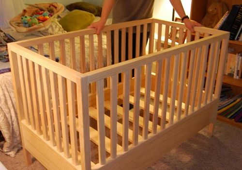I built my son a crib and so can anyone.