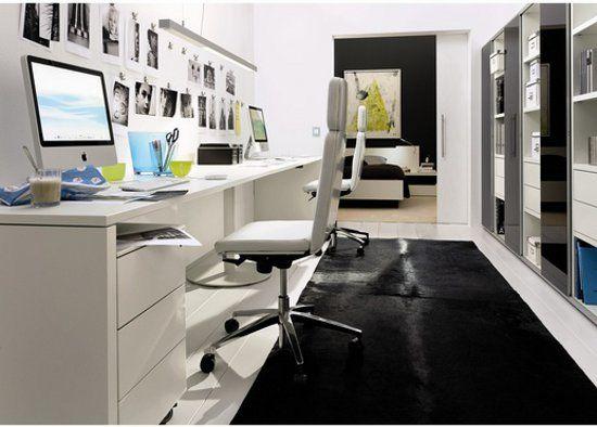 Užitečné Moderní domácí kancelář s přídavným Diy domácí interiér Nápady s moderní domácí kancelář