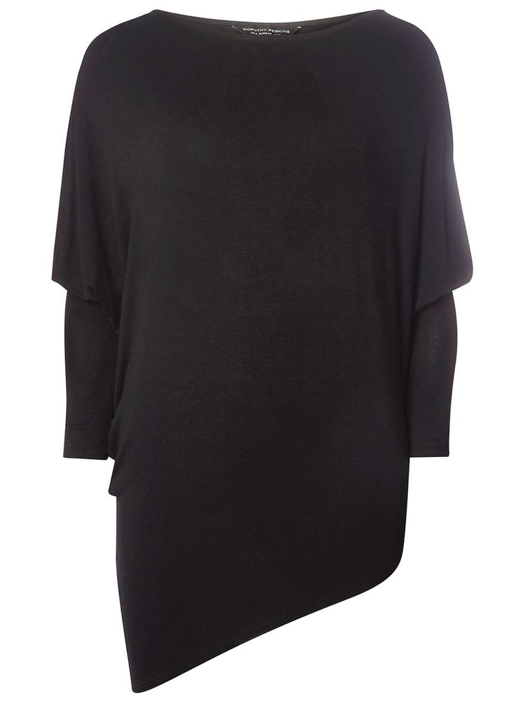 Black Batwing Jersey Top - Tops & T-Shirts - Clothing - Dorothy Perkins