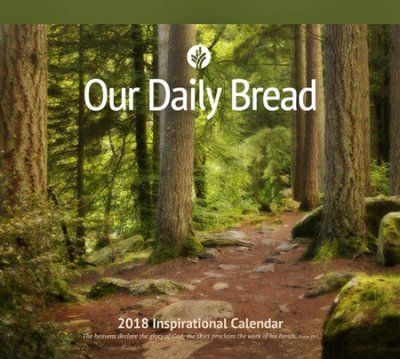 Our Daily Bread 2018 Wall Calendar  -     By: Our Daily Bread Ministries