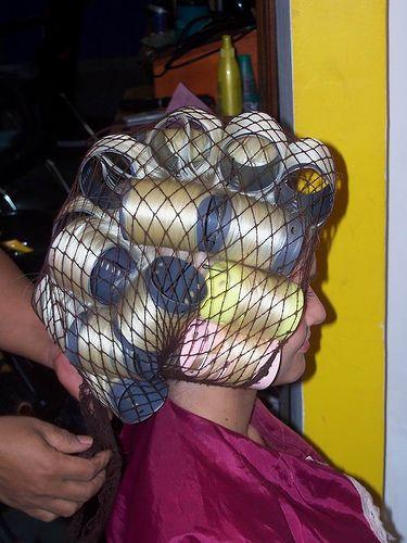 Curlers Hair Curlers Pinterest