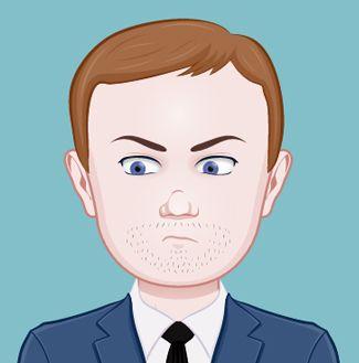 Este es Marvin, el jefe de Sara. Para saber más sobre el personaje http://www.olgadellera.com/personajes-cupcakes-en-manhattan/