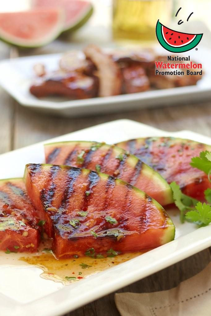 Grilled Spicy Watermelon | Produce Made Simple
