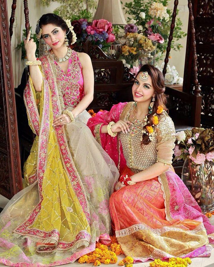 TABYA #fashion #wedding #festive #f#Mehdie#colours #wedding #makeup#sadyasbridalsalon #for details contact on 03028429900 or watts ap 03222157538