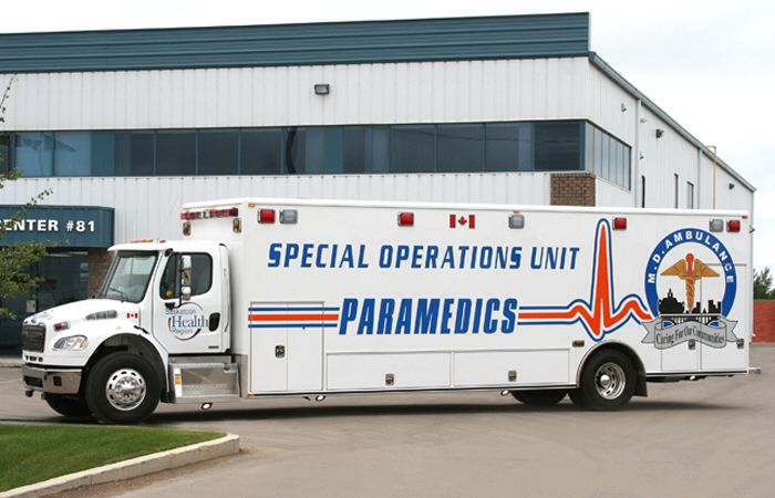 Special Operations Unit Paramedics Canada Service