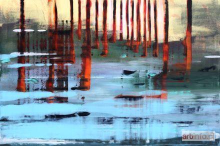 No title, Acrylic on canvas, 80 x 120 cm, Maciej Zabawa