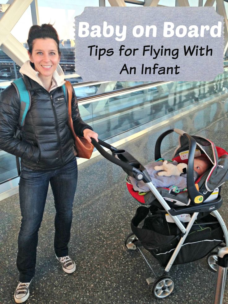 Baby on Board Tips for Flying With An Infant
