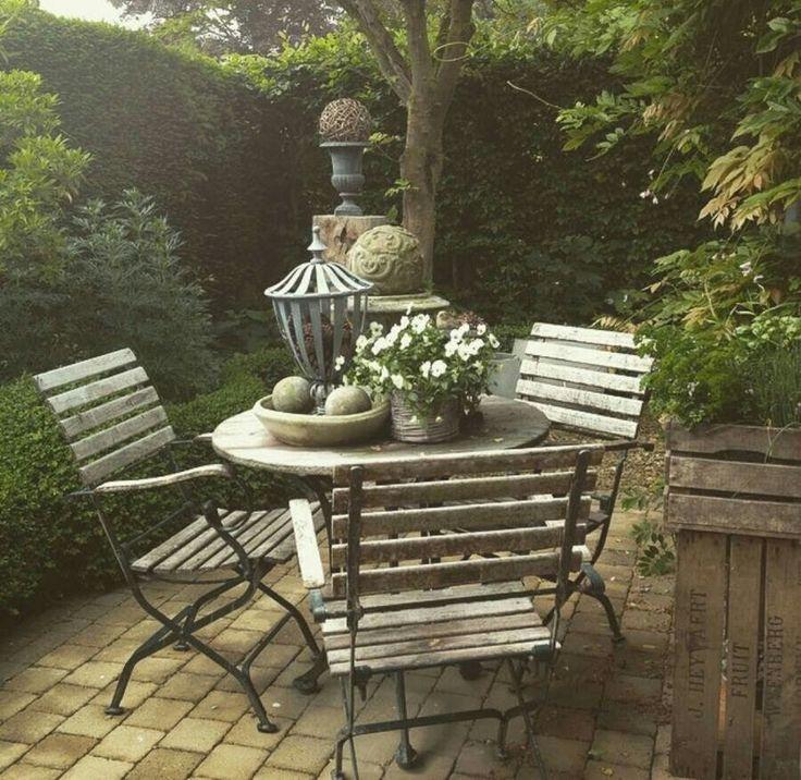 ... Paesaggio di campagna, Arredamento per giardino rustico e Paesaggio