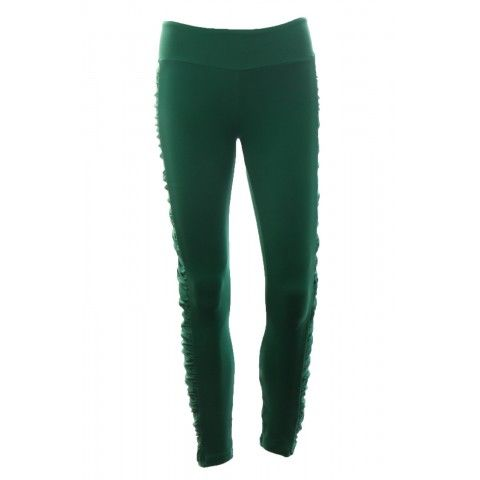 #Legging with ruched detail on the sides, so that it looks so nice and very comfortable to wear. Nice fitting for any body. http://riofitness.com.au