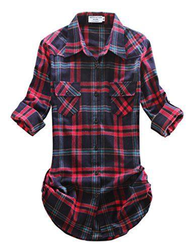 Match Women's Long Sleeve Plaid Flannel Shirt #2021(Small... https://smile.amazon.com/dp/B01MTA76O9/ref=cm_sw_r_pi_dp_x_TAkaAb22WNMYT  size small
