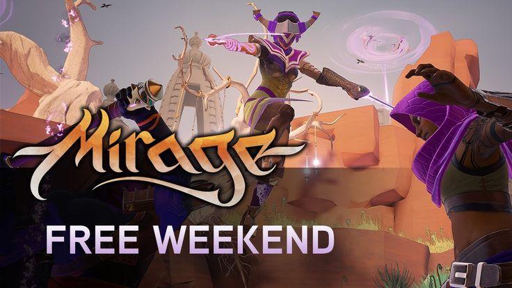 Mirage: Arcane Warfare - Free Weekend on Steam! June 8-11